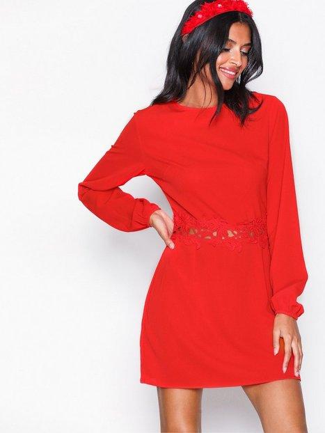 Billede af Ax Paris Long Sleeve Dress Loose fit Red