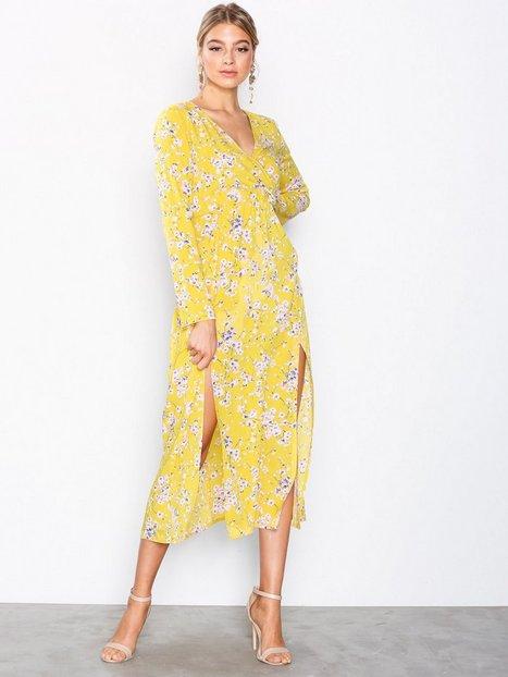 Billede af Ax Paris Long Sleeve Dress Maxikjoler Floral