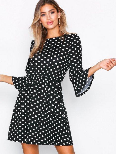Billede af Ax Paris Polka Dot Mini Dress Kropsnære kjoler Black