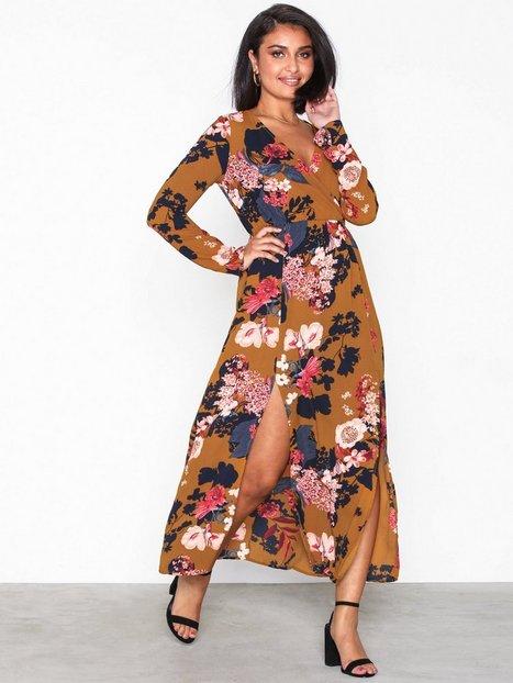 Ax Paris Long Sleeve Dress Maxiklänningar - Ax Paris