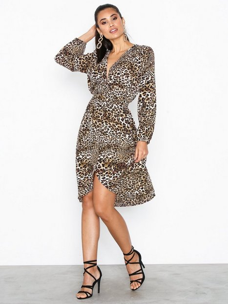 Billede af Ax Paris Long Sleeve Midi Dress Loose fit