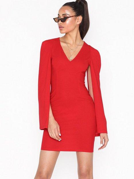 ecb10142f64b Ax Paris Open Long Sleeve Dress Tætsiddende kjoler
