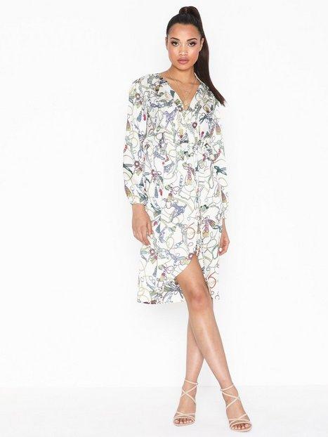 Billede af Ax Paris Long Sleeve Printed Dress Loose fit