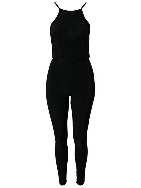 Detailed Back Jumpsuit