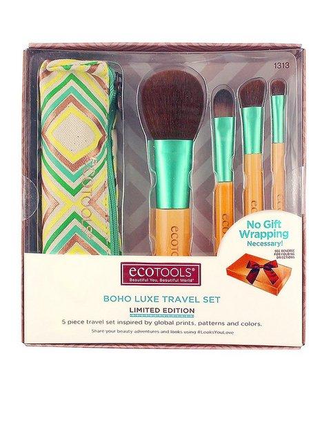 Billede af Eco Tools Boho Luxe Travel Set Pensle & Sminkebørste Mønstret