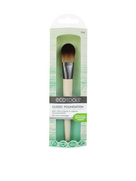 Billede af Eco Tools Classic Foundation Brush Redskaber & Tilbehør Bamboo