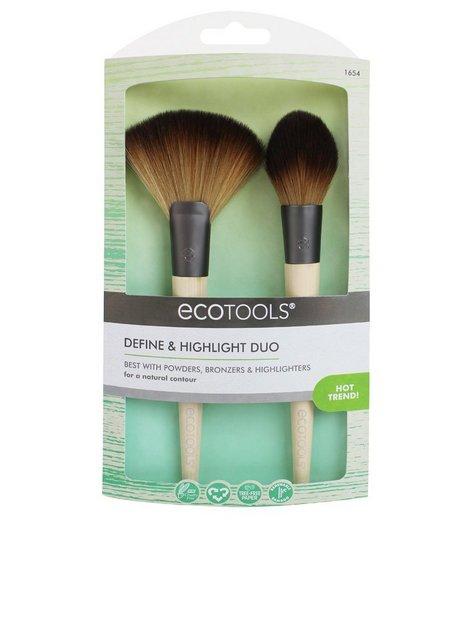 Billede af Eco Tools Define & Highlight Duo Børste & Kam Bamboo