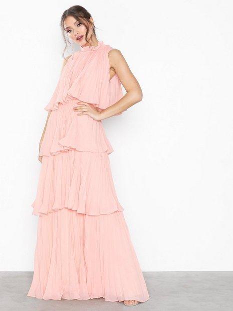 Billede af True Decadence High Neck Frill Dress Maxikjoler