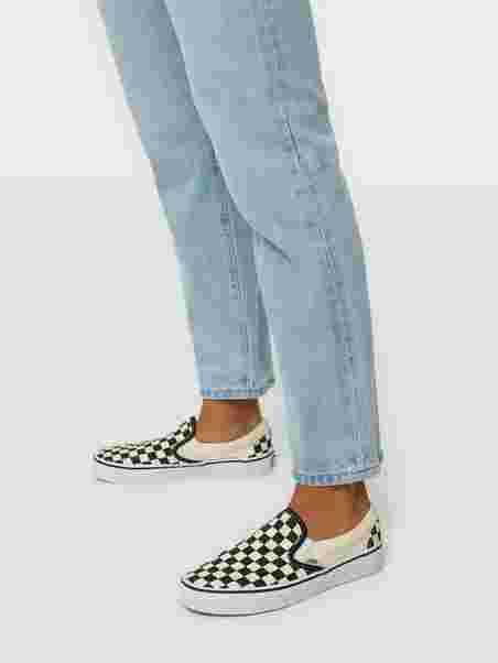 6af3ec6bc6 Ua Classic Slip - On - Vans - Sort Hvid - Sneakers - Sko - Kvinde ...
