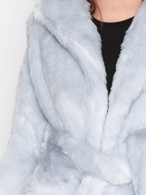 Fur Wrap Coat