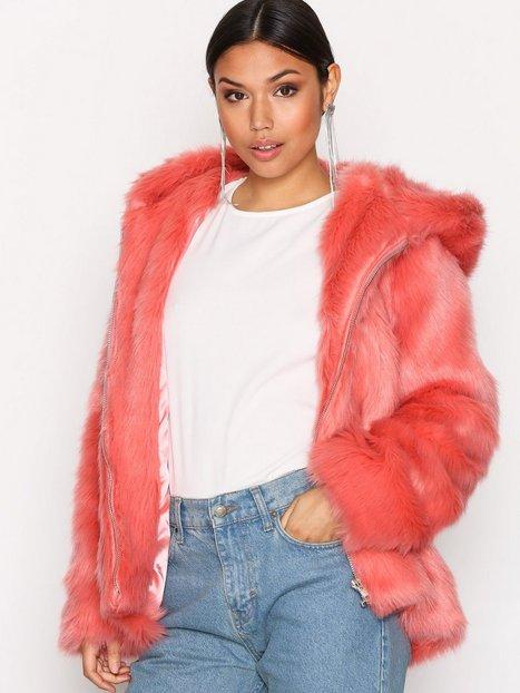 Billede af Glamorous Faux Fur Jacket Faux Fur Pink