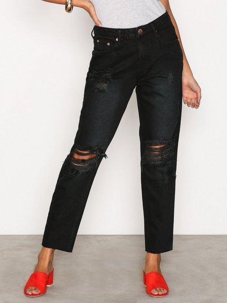Billede af Glamorous Destroy Mom Jeans Jeans Washed Black