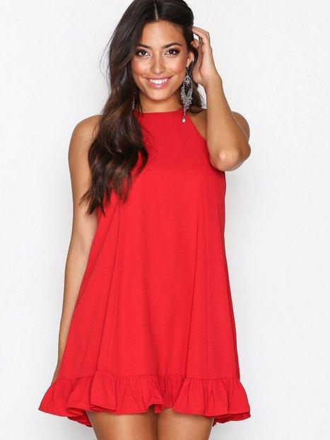 Billede af Glamorous Flounce Bottom Dress Festkjoler Red