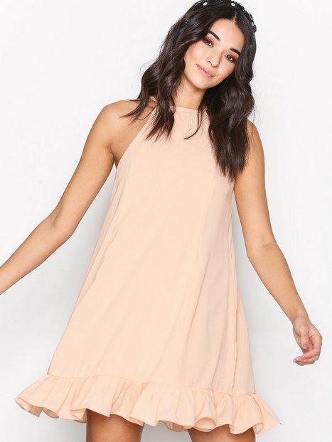 Billede af Glamorous Flounce Bottom Dress Festkjoler Light Pink