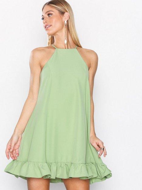 Billede af Glamorous Flounce Bottom Dress Festkjoler Green