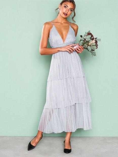 Billede af True Decadence Frill Sleeveless Dress Skaterkjole Grey