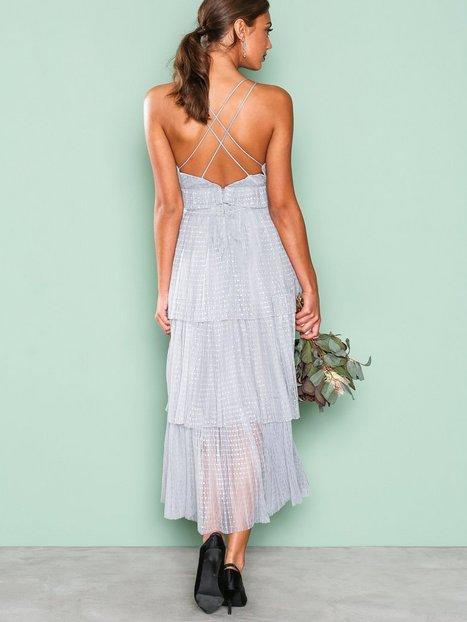 Frill Sleeveless Dress