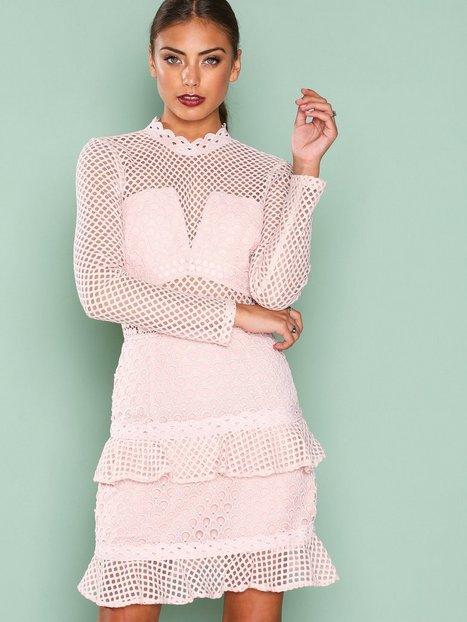 Billede af True Decadence Mesh Detail Dress Kropsnære kjoler Pale Blush