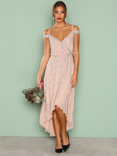 Billede af True Decadence Detail Wrap Dress Maxikjoler Blush