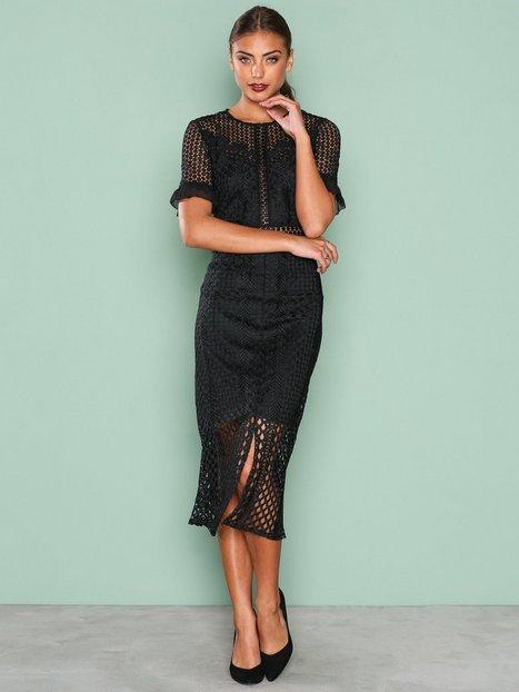 Billede af True Decadence Detail Short Sleeve Dress Kropsnære kjoler Black