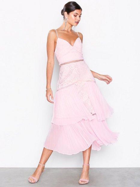Billede af True Decadence Floral Lace Mini Dress Skater kjoler Light Pink