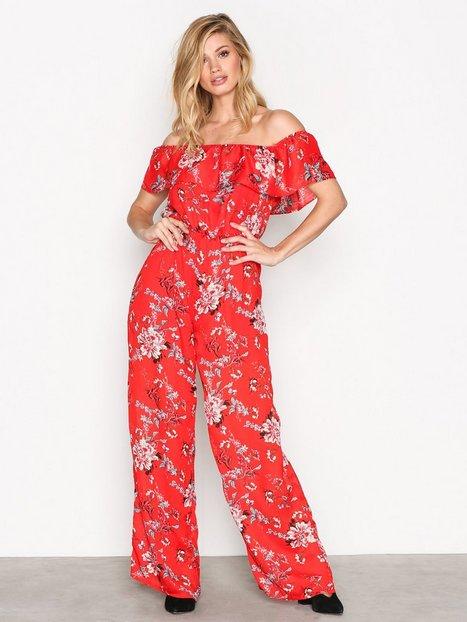 Billede af Glamorous Bardot Jumpsuit Jumpsuits Red