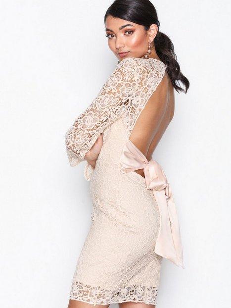 Billede af Glamorous Long sleeve Dress Kropsnære kjoler Beige Natural