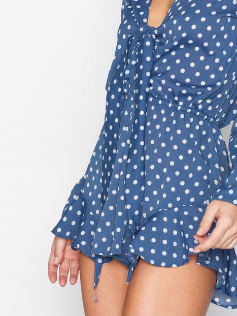 Frill Knot Playsuit