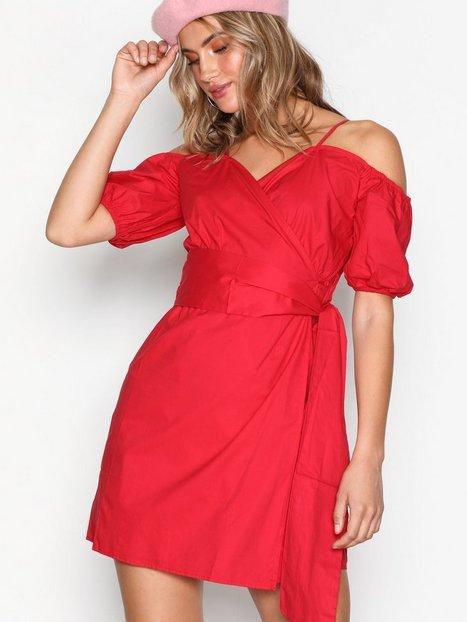 Billede af Glamorous Cold Shoulder Dress Skater dresses Red