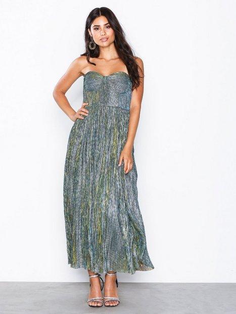 Billede af Glamorous Bardot Dress Skater kjoler Metallic Green
