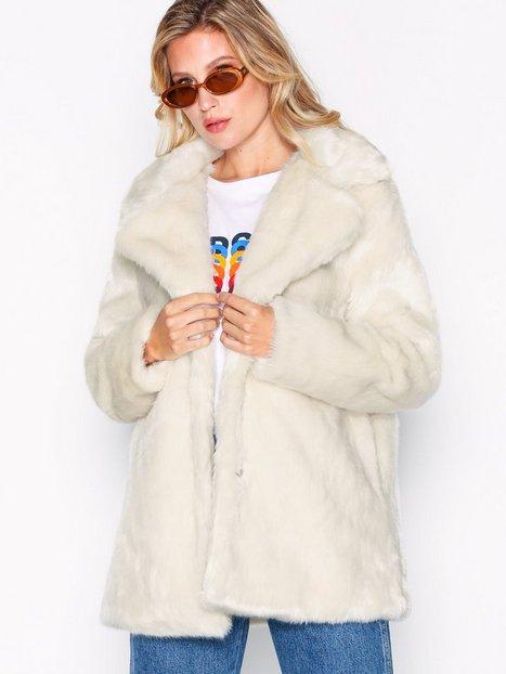 Billede af Glamorous Fur Coat Faux Fur Cream