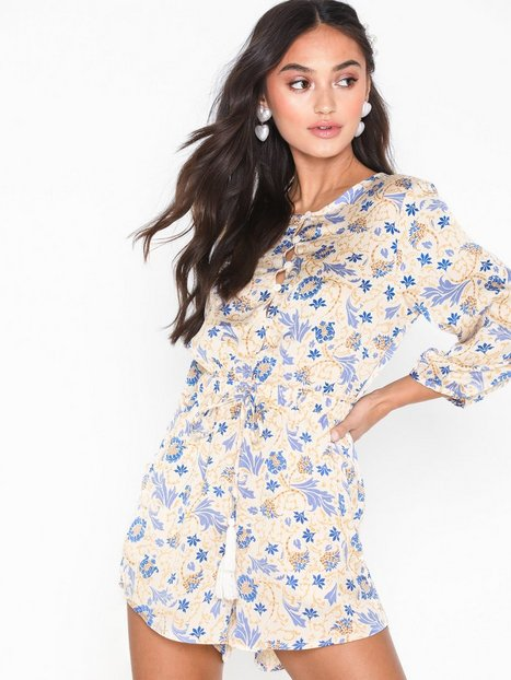 Billede af Glamorous Long Sleeve Floral Playsuit Playsuits