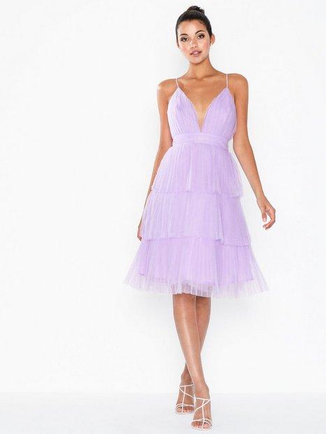 Billede af True Decadence Flounce Mesh Midi Dress Loose fit