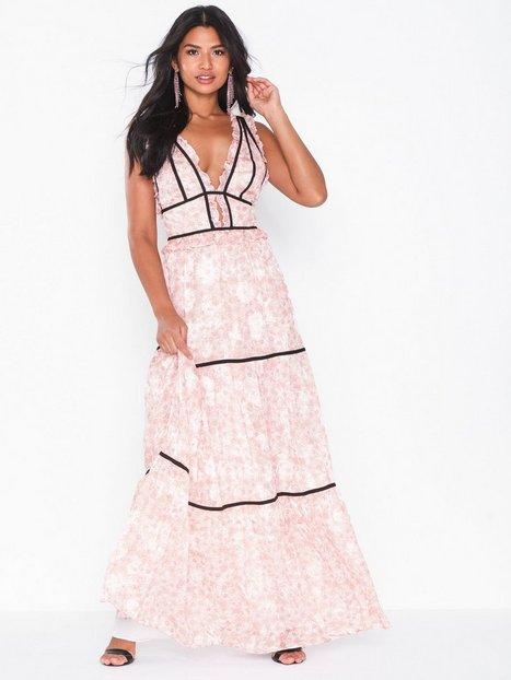Billede af True Decadence Flowered Long Dress Maxikjoler
