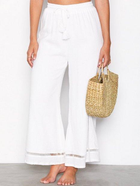 Billede af MinkPink Antigua Textured Culotte Strandtøj Hvid