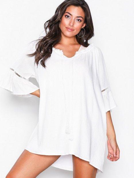 Billede af MinkPink Antigua Smock Dress Strandtøj Hvid