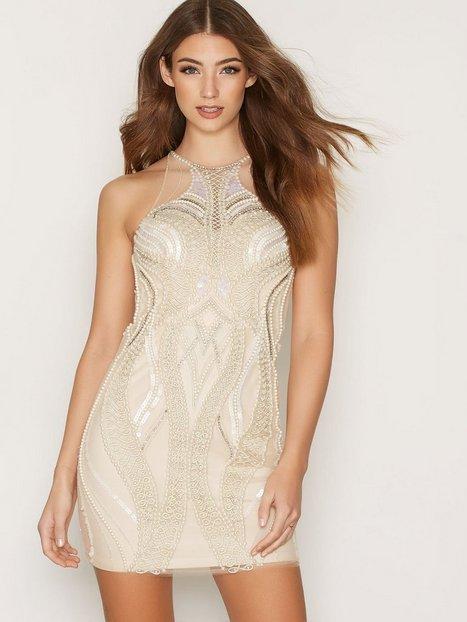 Billede af Forever Unique Emmie Dress Kropsnære kjoler Champagne