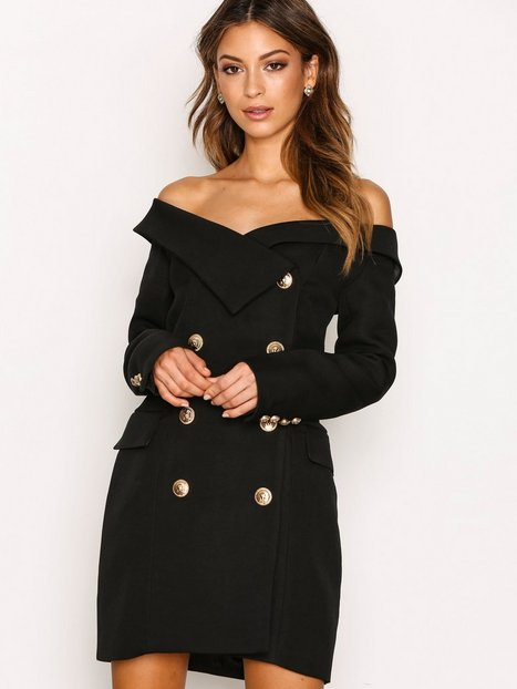 Billede af Forever Unique Freda Dress Kropsnære kjoler Black