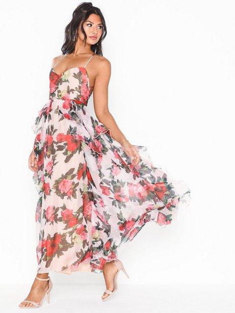 Billede af Forever Unique Maxi Flower Dress Maxikjoler