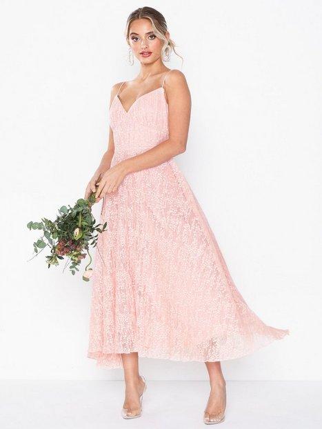Billede af Forever Unique Maxi Strappy Lace Dress Loose fit