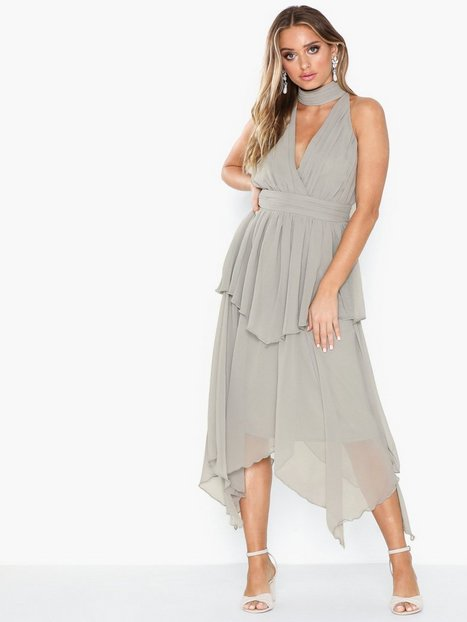 Billede af U Collection Midi Wrap Dress Loose fit