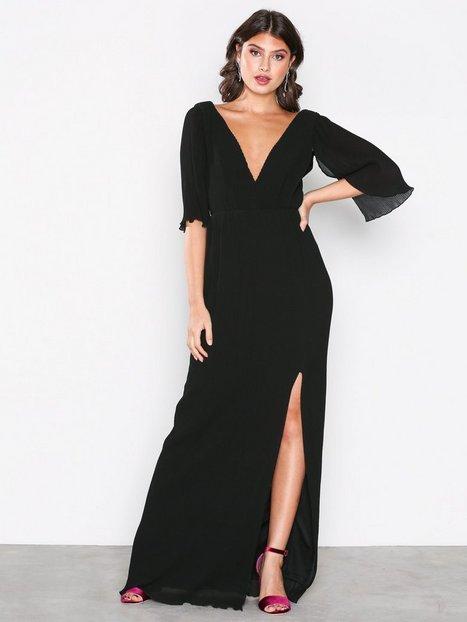 TFNC Oboe Maxi Dress Maksimekot Black thumbnail