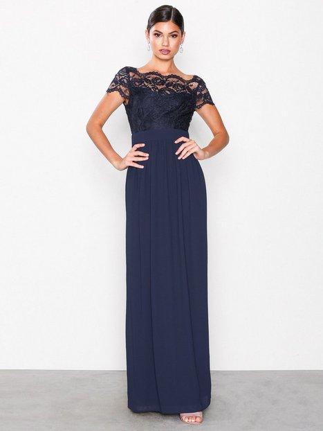 Abilinia Maxi Dress - Tfnc - Navy - Partykleider - Kleidung - Damen ...