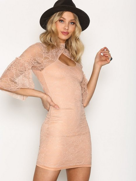 Billede af TFNC Daren Dress Kropsnære kjoler Champagne