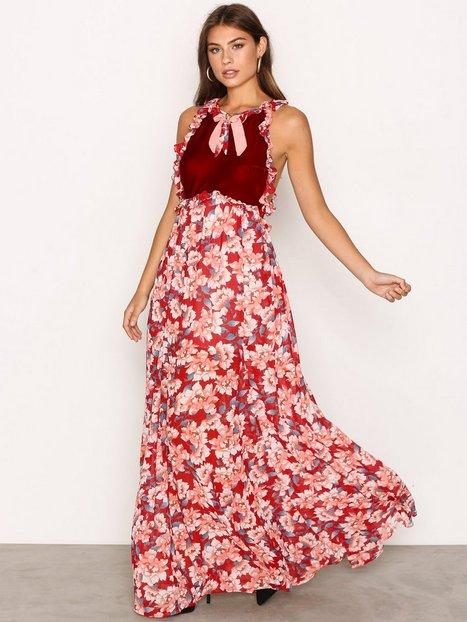 Billede af For Love & Lemons Blossom Tank Maxi Dress Maxikjole Cranberry