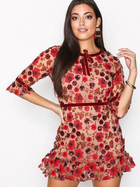 Billede af For Love & Lemons Beatrice Swing Dress Skater kjoler Bouquet