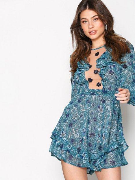 Billede af For Love & Lemons Agnes mini dress Skater kjoler Jade