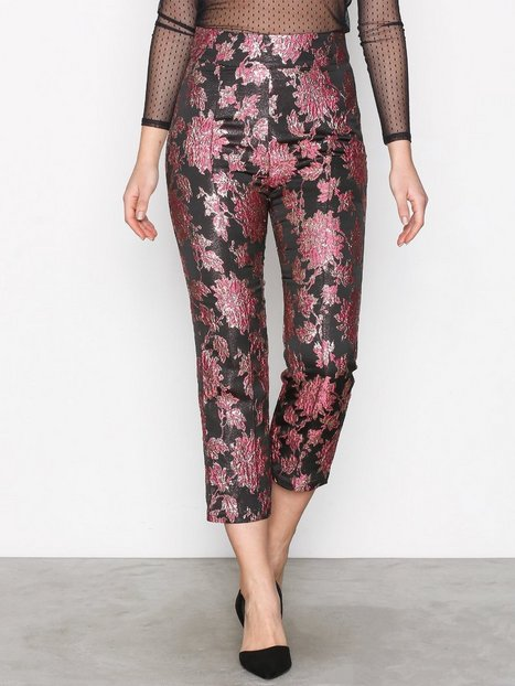 For Love & Lemons Luella Cigarette Pant Byxor Metallic thumbnail