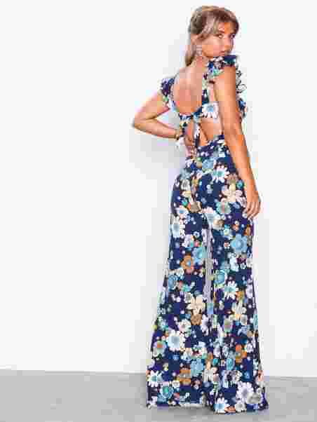 0e27ad2ebc3 Magnolia Ruffled Jumpsuit - For Love   Lemons - Blossom - Jumpsuits ...