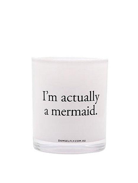 Billede af Damselfly Candles I'm Actually A Mermaid Duftlys